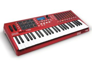 Akai s Max49 looks to the past as well as the future