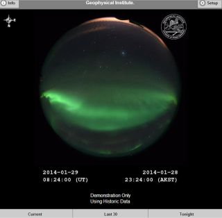 New Northern Lights App