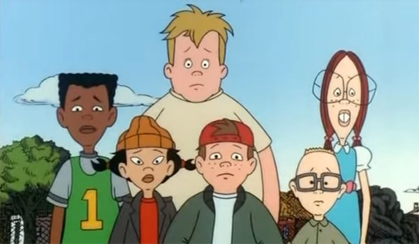 The gang in Recess