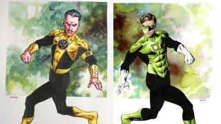 Sinestro-Hal Jordan