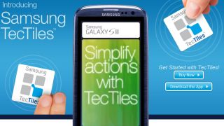 Samsung launches TecTiles NFC app and tags