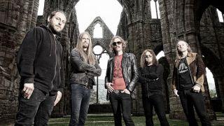 A press shot of Opeth taken in 2016