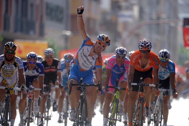 Tyler Farrar wins, Vuelta a Espana 2010, stage five