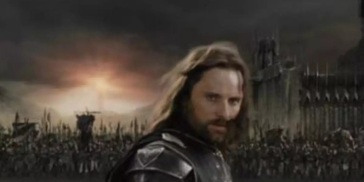 Aragorn, every inch a king