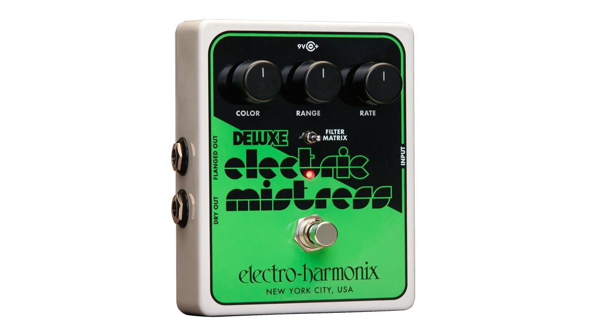 namm 2015 electro harmonix reveals deluxe electric mistress xo flanger pedal musicradar. Black Bedroom Furniture Sets. Home Design Ideas