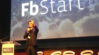 Julien Codornieu speaking at fbSTART London