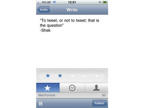 Birdhouse iPhone app