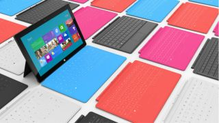 Microsoft Surface Q1 2013 total shipments