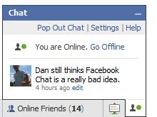 Hands on with Facebook Chat - timewasters only | TechRadar