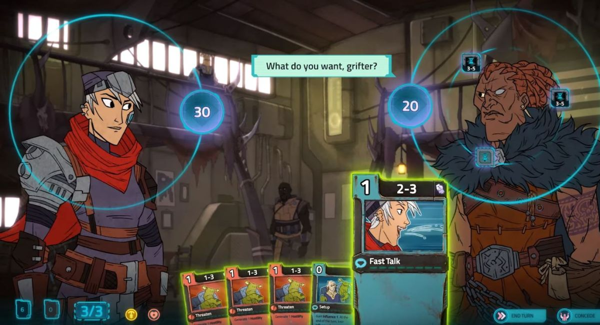 Klei's Griftlands is back as a card battle RPG, alpha starts this