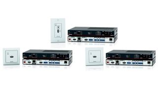 Extron is shipping the HC 402 Series of Meeting Space Collaboration Systems.