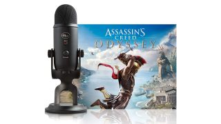 The Blue Yeti USB microphone is on sale with Assassin's Creed