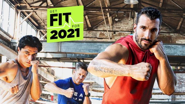 boxing total body workout with Joel Freeman Beachbody on Demand
