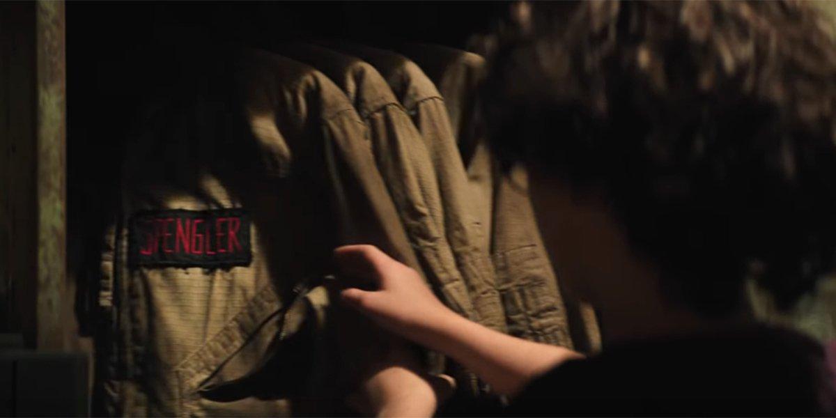 Egon Spengler's uniform