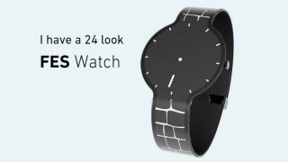 Sony Fes Watch has an E-ink display, but it's not smart