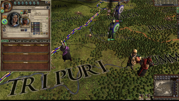 Crusader Kings II: Rajas of India interview: new religions, tiger