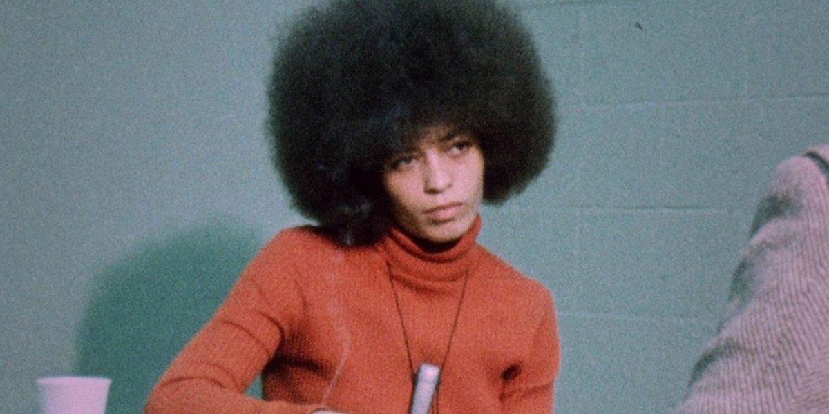 Angela Davis in The Black Power Mixtape 1967--1975