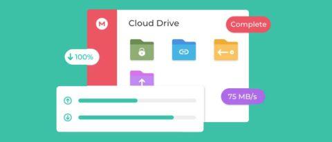 Mega screenshot of interface