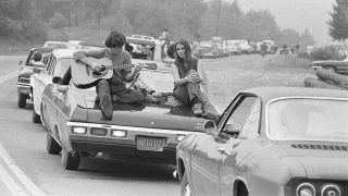 Picture from Woodstock 1968, by Baron Wolman, featured in new London exhibition