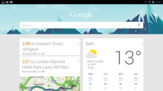 Getting started with Google Now