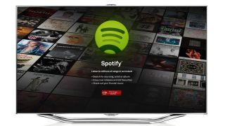 Samsung adds Spotify streaming to Smart TVs