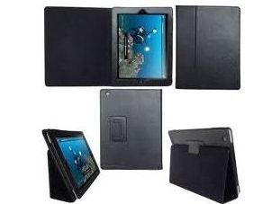 76 off an iPad 2 black leather case