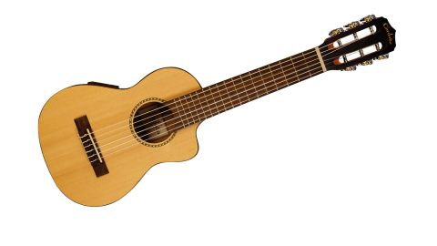Once, like any uke or nylon-string, those six strings have settled in, it's a lot of fun