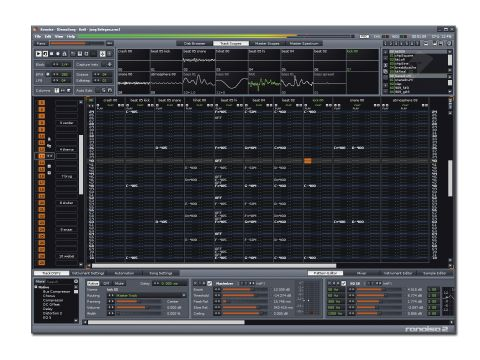 Renoise can look more like a spreadsheet than a music-making app at times.