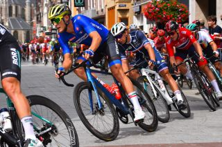 Matteo Trentin represents Italy at the 2019 European Championships road race