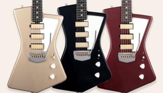 Ernie Ball Music Man's new Goldie guitar