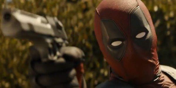 Deadpool shooting in Deadpool 2