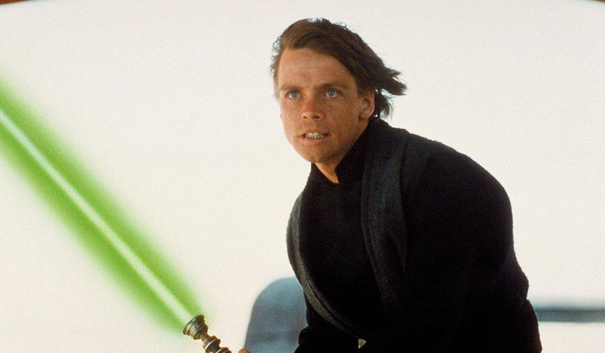 Mark Hamill as Luke Skywalker in Star Wars: Return of the Jedi