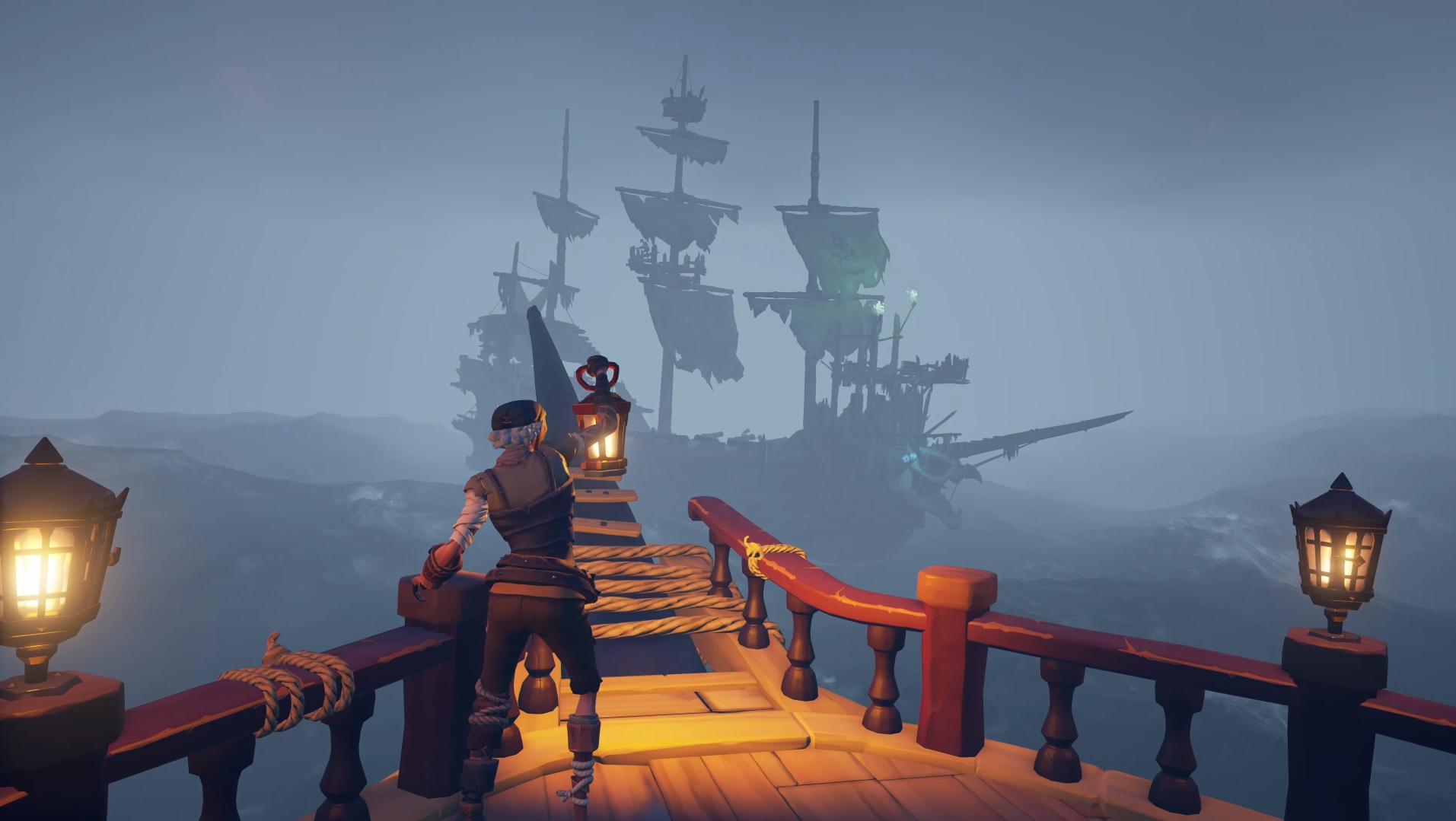 Resultado de imagen para Sea of Thieves' latest free update adds ominous fog and loads of skeletons