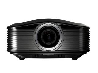 The Optoma HD82 projector