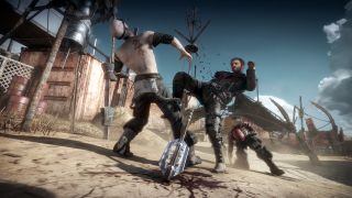 Mad Max wastes marauders in the wasteland