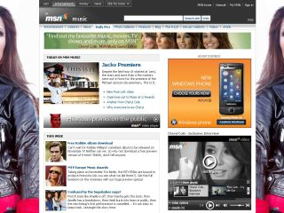 MSN Music now with enhanced music functionality
