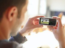 Footy by mobile