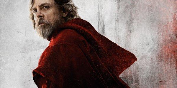 Star Wars: The Last Jedi Luke in a red robe