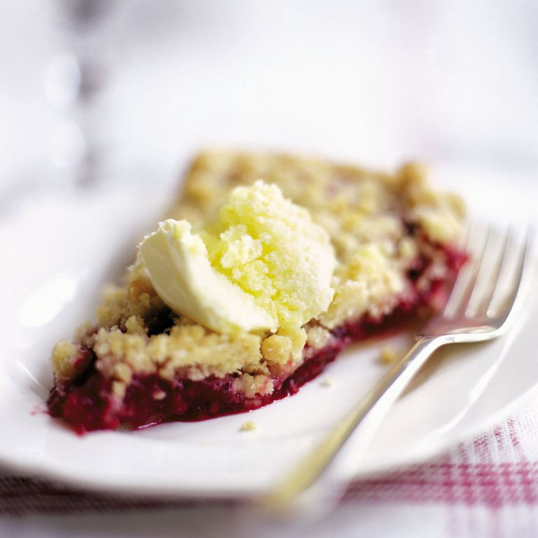 Blackberry and Apply Crumble Tart recipe-tart recipes-recipe ideas-new recipes-woman and home