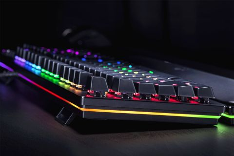 Razer Huntsman keyboard delivers opto-mechanical key switches