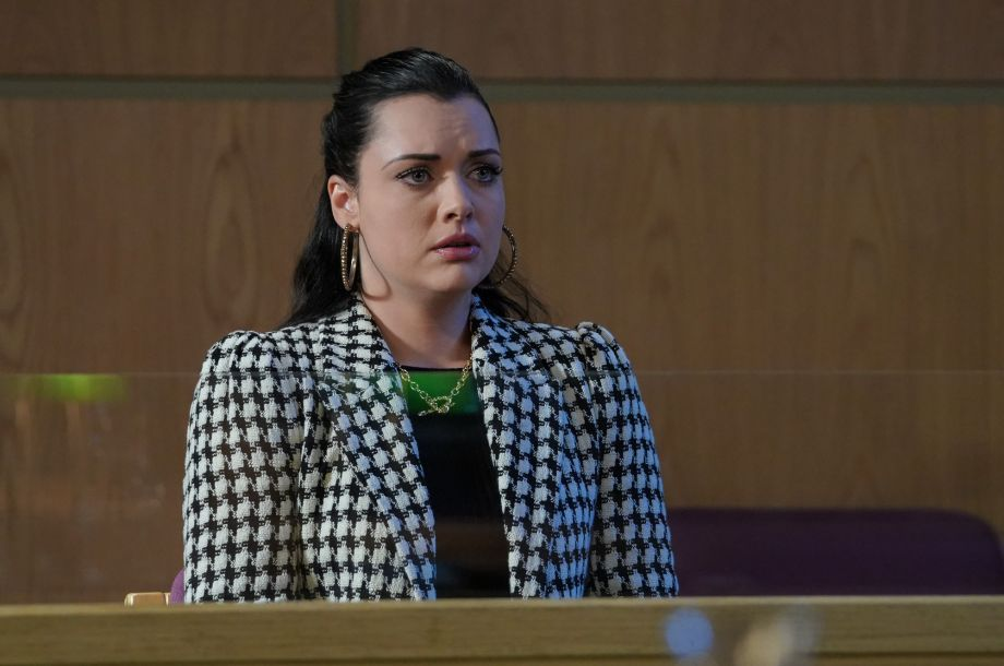 Whitney is in court in EastEnders