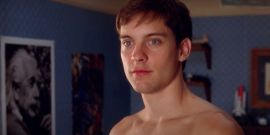 Watch Tobey Maguire's Shirtless Spider-Man Screen Test