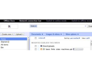 Google Docs - offline syncing coming soon
