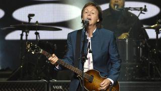 Desert Trip festival headliner Paul McCartney