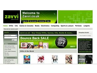 Zavvi.co.uk re-launched