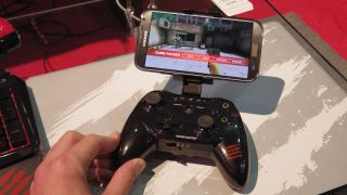 Android-powered Mad Catz MOJO console will also stream PC games to TV