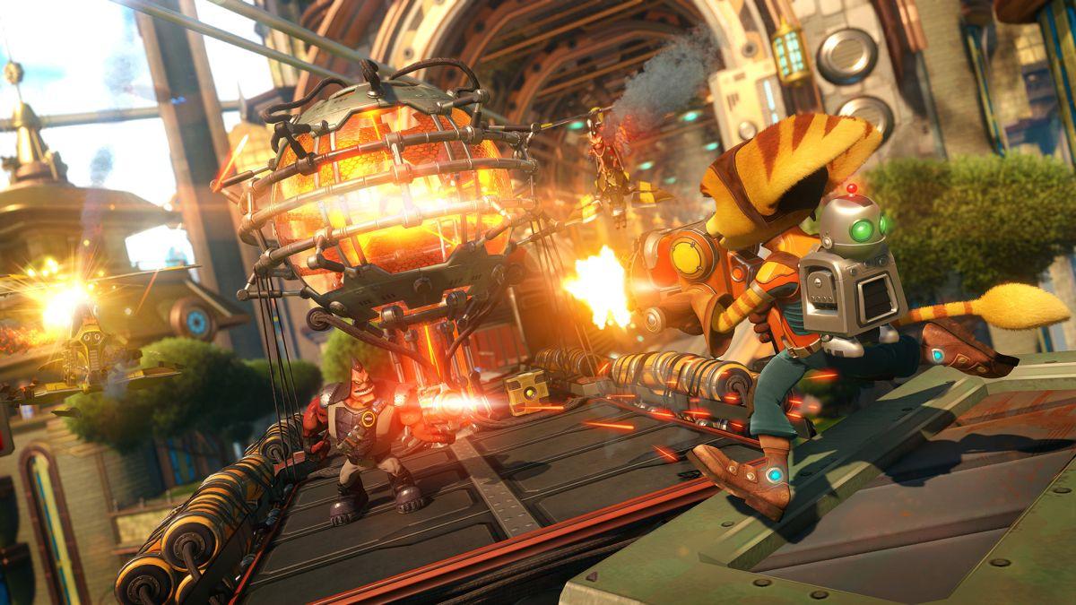 Ratchet Clank Review Gamesradar