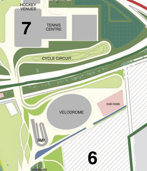London Olympic velopark plans