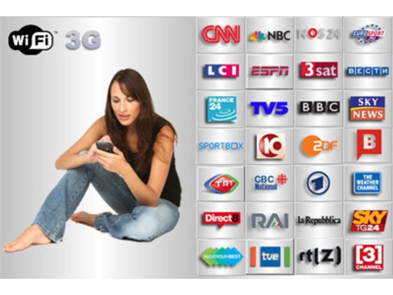 Watch 100 TV channels on a mobile | TechRadar