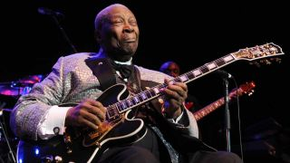 BB King performing at the Royal Albert Hall in 2011, a long way from Itta Bena